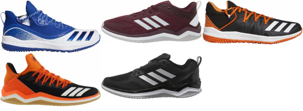 buy adidas turf/ trainer baseball cleats for men and women