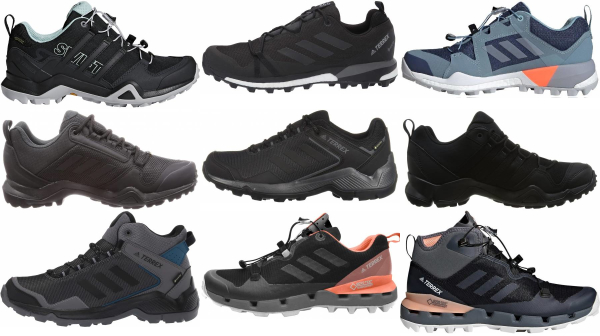 buy adidas waterproof hiking shoes for men and women