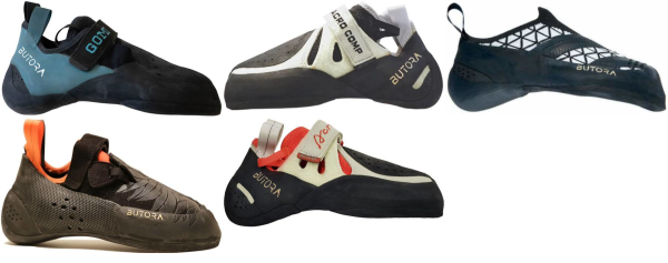 buy aggressive butora climbing shoes for men and women