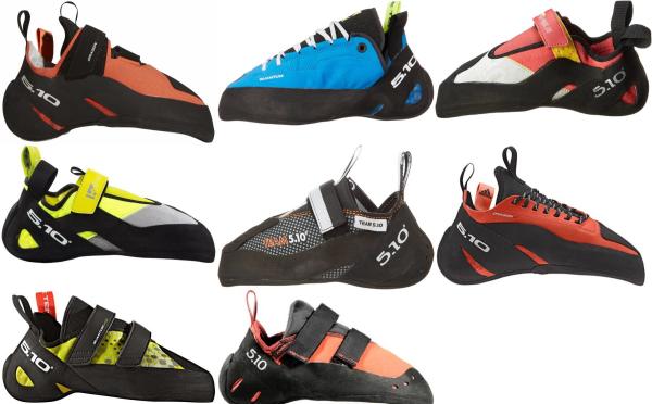 buy aggressive five ten climbing shoes for men and women
