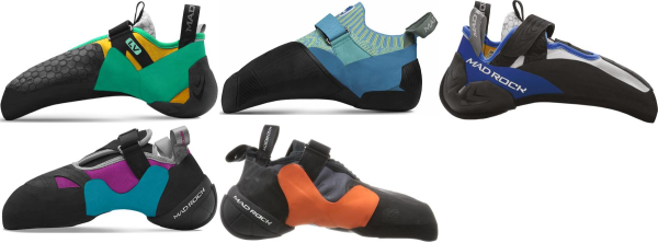 buy aggressive mad rock climbing shoes for men and women