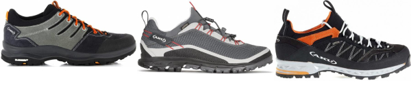 buy aku lace up hiking shoes for men and women
