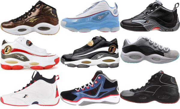 buy allen iverson basketball shoes for men and women