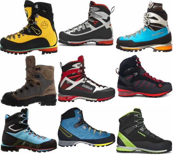 buy alpine mountaineering boots for men and women
