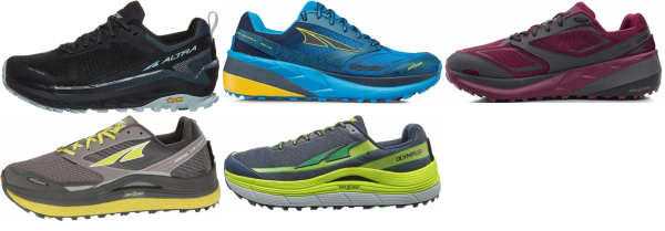 buy altra olympus running shoes for men and women