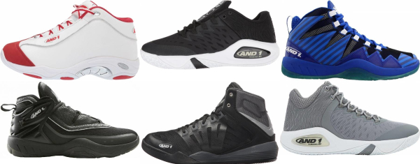 buy and 1 basketball shoes for men and women