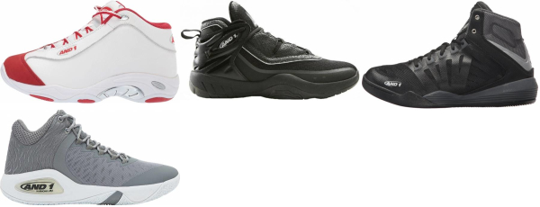 buy and 1 mid basketball shoes for men and women
