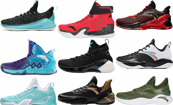 buy anta  basketball shoes for men and women