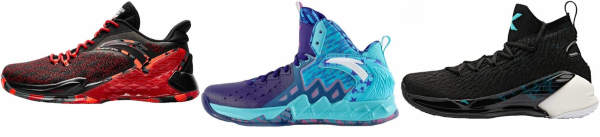 buy anta  mid basketball shoes for men and women