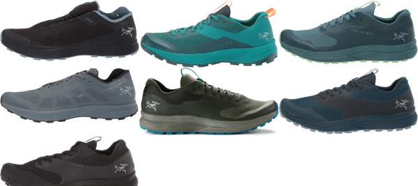 buy arc'teryx trail running shoes for men and women