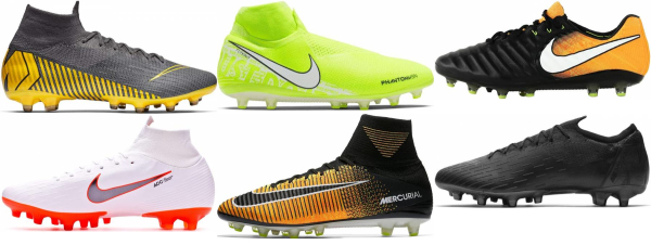 buy artificial grass flyknit  soccer cleats for men and women