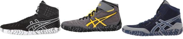 buy asics aggressor wrestling shoes for men and women
