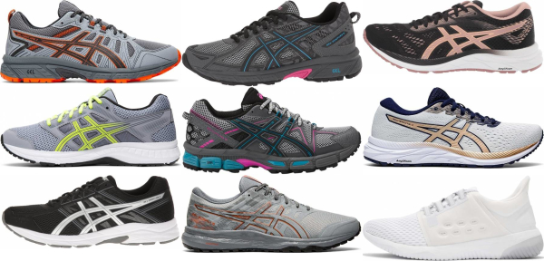 buy asics cheap running shoes for men and women