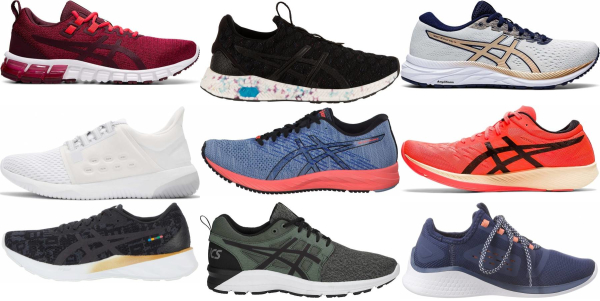 buy asics competition running shoes for men and women