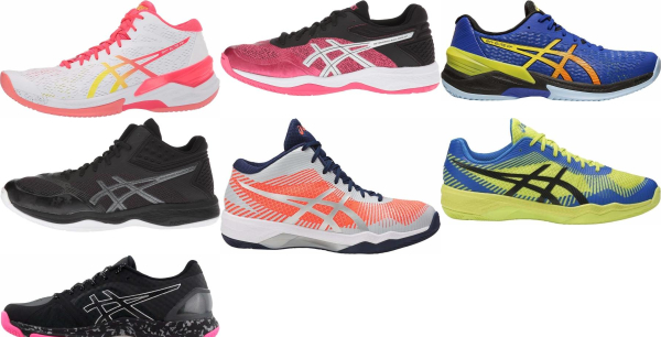 buy asics flytefoam volleyball shoes for men and women