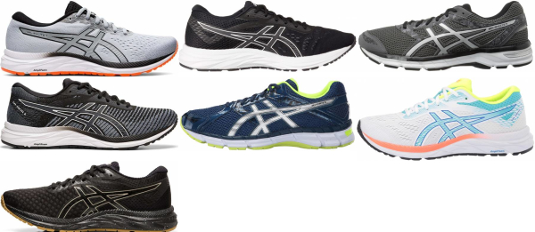 buy asics gel excite running shoes for men and women