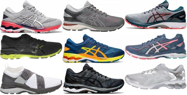 buy asics gel kayano running shoes for men and women
