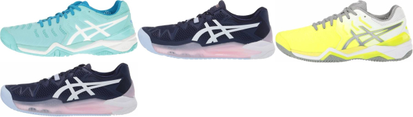 buy asics gel resolution tennis shoes for men and women