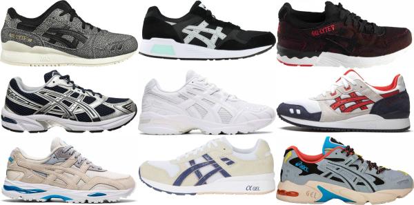 buy asics gel sneakers for men and women