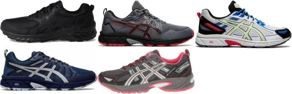 buy asics gel venture running shoes for men and women