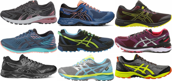 buy asics gore-tex running shoes for men and women