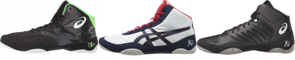 buy asics jordan burroughs wrestling shoes for men and women