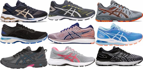 buy asics marathon running shoes for men and women