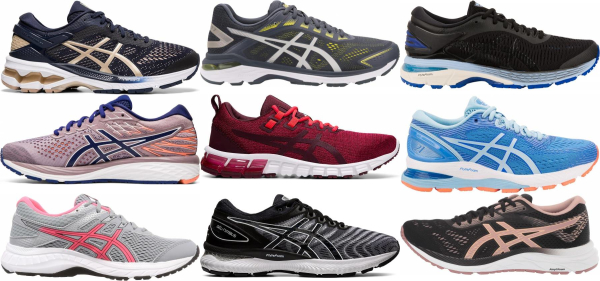buy asics road running shoes for men and women