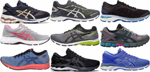 buy asics stability running shoes for men and women