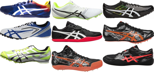 buy asics track & field shoes for men and women