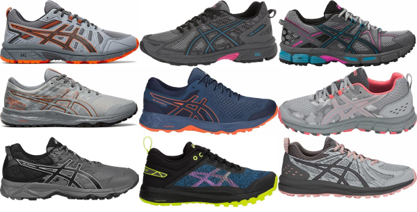 asics womens running shoes pronation results