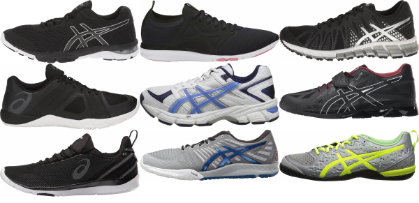 buy asics training shoes for men and women