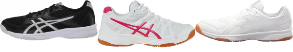 buy asics upcourt volleyball shoes for men and women