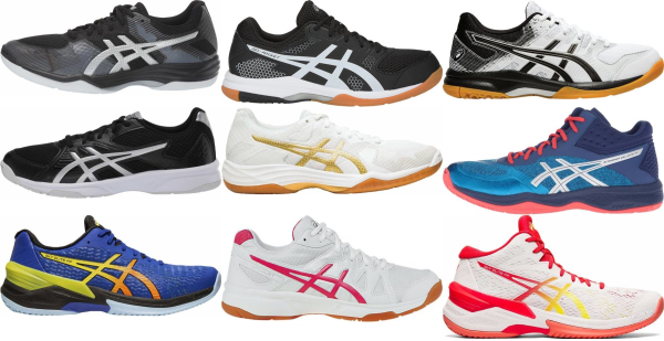 buy asics volleyball shoes for men and women