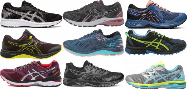 buy asics waterproof running shoes for men and women