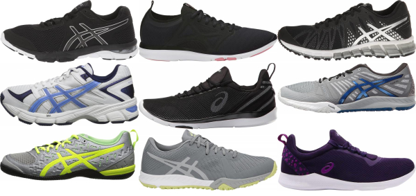 buy asics workout shoes for men and women