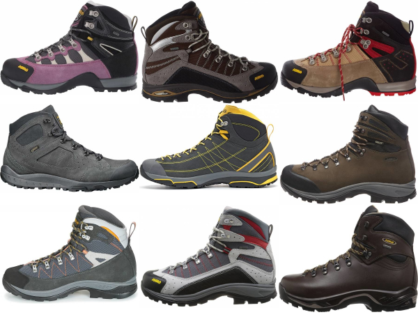 buy asolo leather hiking boots for men and women