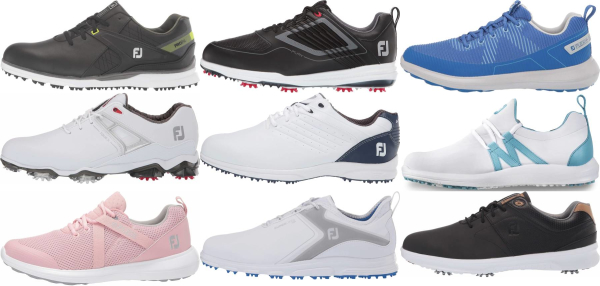 buy athletic footjoy golf shoes for men and women