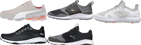 buy athletic puma golf shoes for men and women