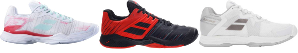 buy babolat all court tennis shoes for men and women