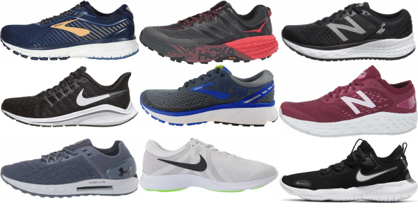 buy back-pain running shoes for men and women