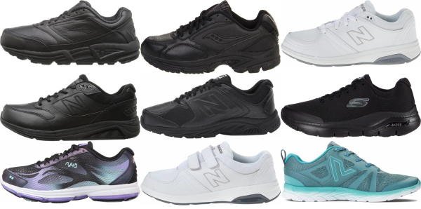 buy back pain walking shoes for men and women