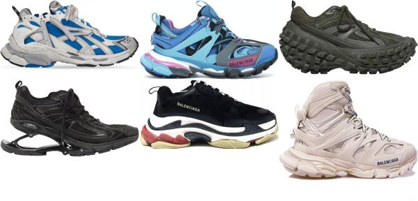 buy balenciaga chunky sneakers for men and women