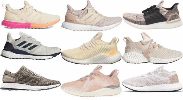 buy beige adidas running shoes for men and women