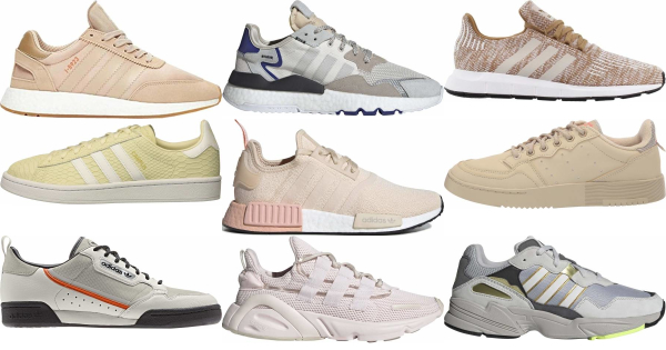 buy beige adidas sneakers for men and women