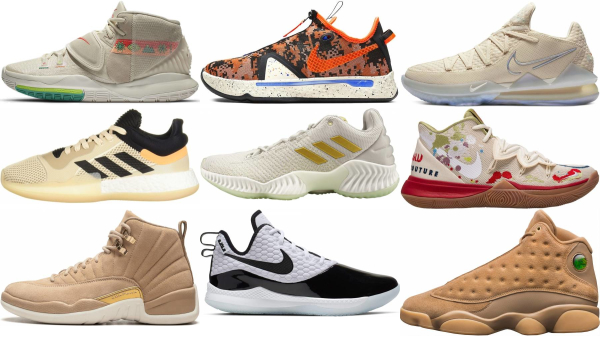 buy beige basketball shoes for men and women