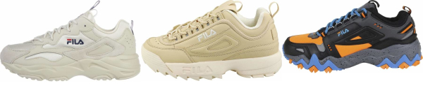buy beige fila sneakers for men and women