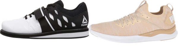 buy beige high drop training shoes for men and women