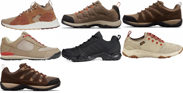 buy beige hiking shoes for men and women