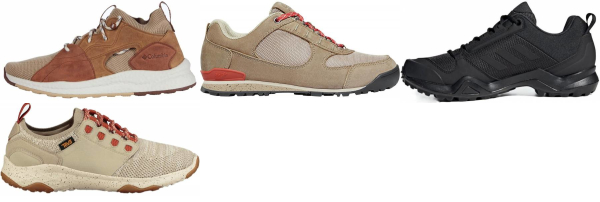 buy beige lightweight hiking shoes for men and women